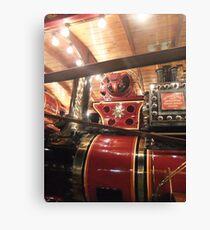 Showmans Engine, Lincoln Steam Rally Canvas Print