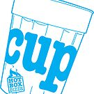 HotBox Cup-Blue by HotBoxPizza
