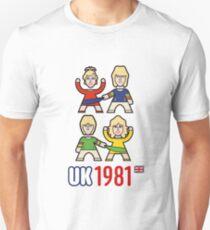 Camiseta ajustada Reino Unido 1981