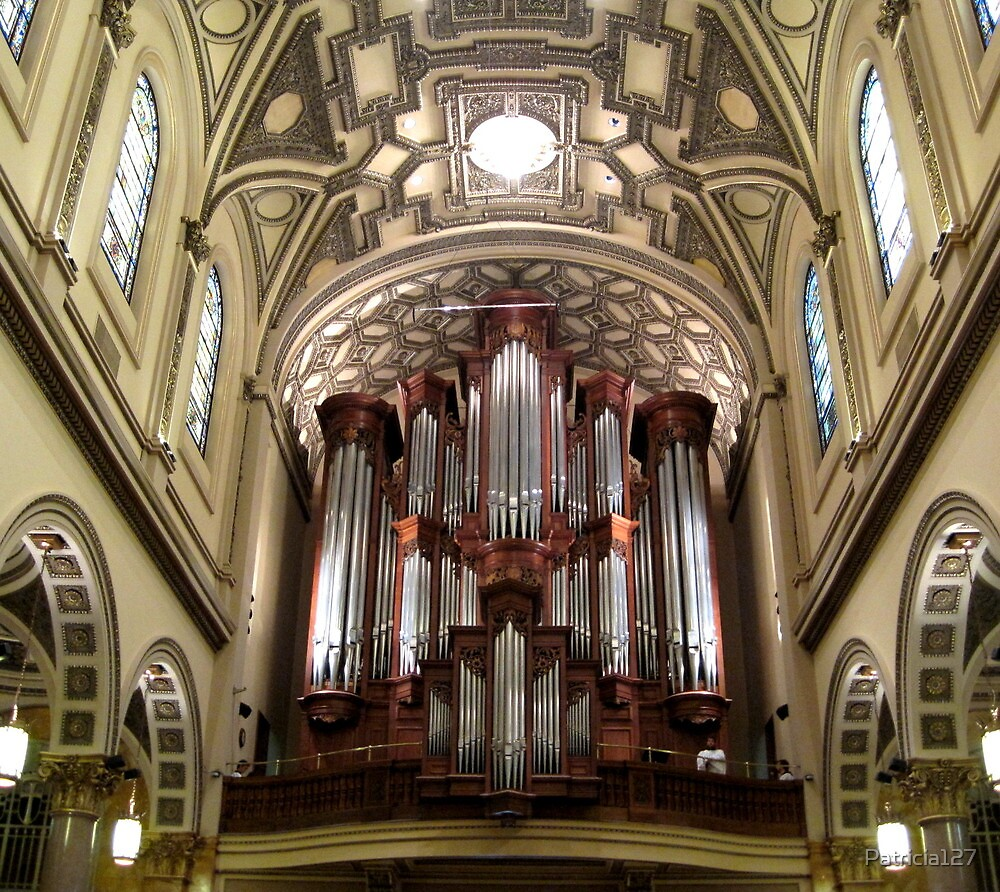 The Mander Organ at St. Ignatius Loyola Church, New York City by Patricia127