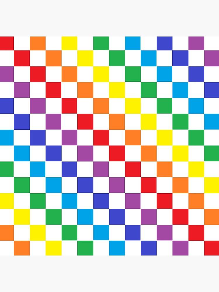 Checkered Rainbow  by lornakay