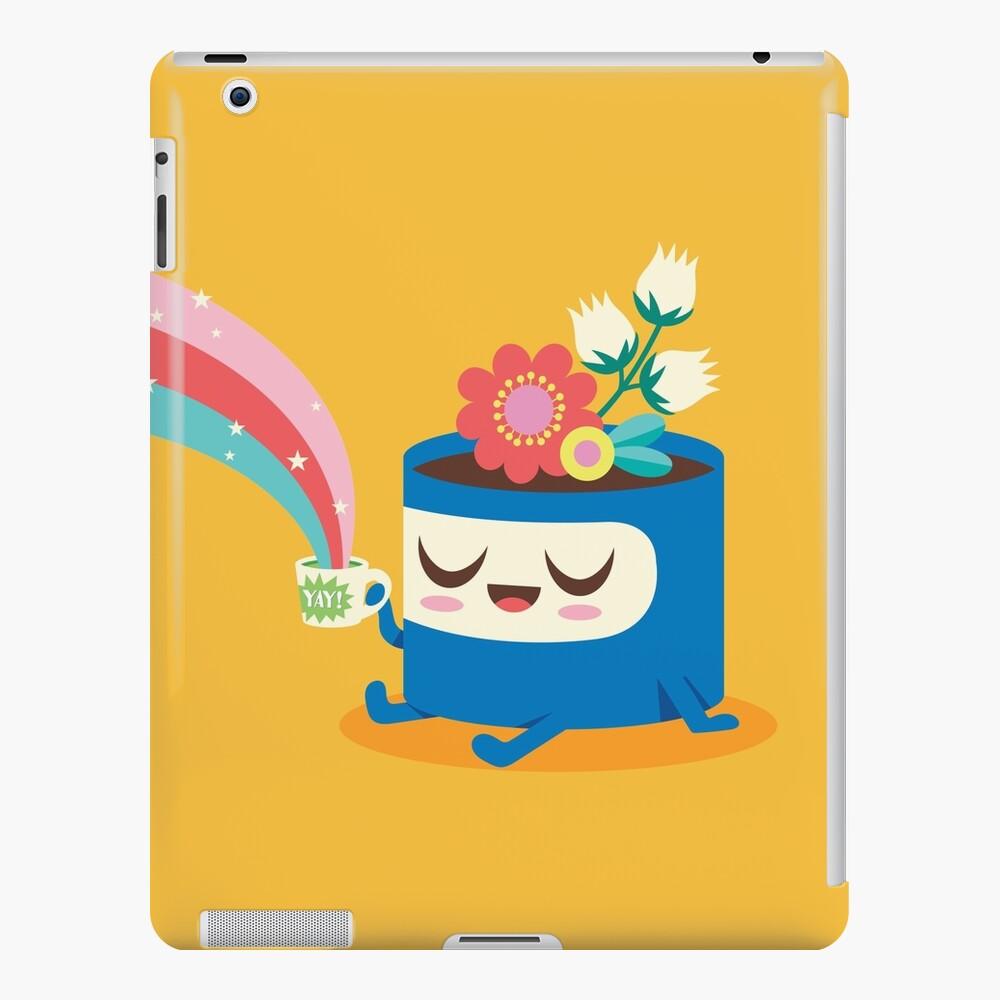 Flower Pot Head and Magic Tea iPad Case & Skin