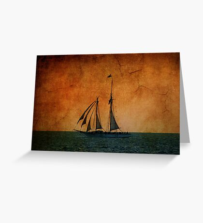 The America in Key West Greeting Card