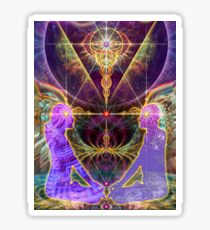 Claire Reid The third eye chakra Ajna Sticker