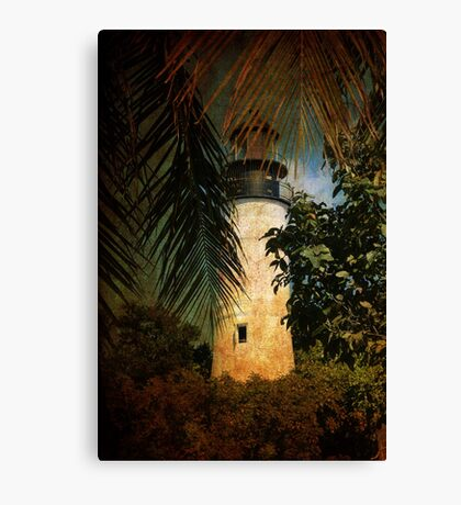 The Lighthouse in Key West Canvas Print