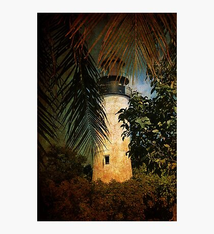 The Lighthouse in Key West Photographic Print