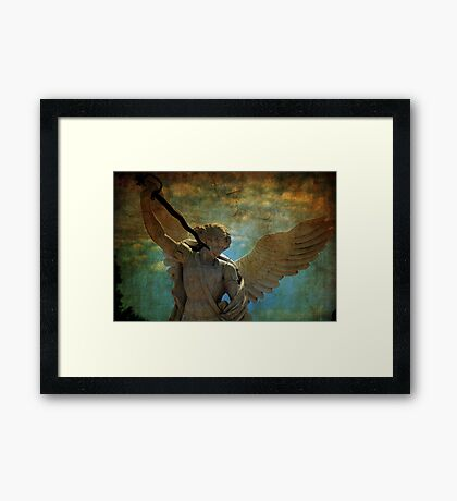 Angel of the last days Framed Print