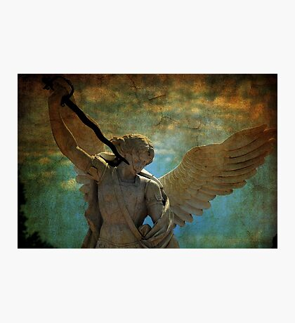 Angel of the last days Photographic Print
