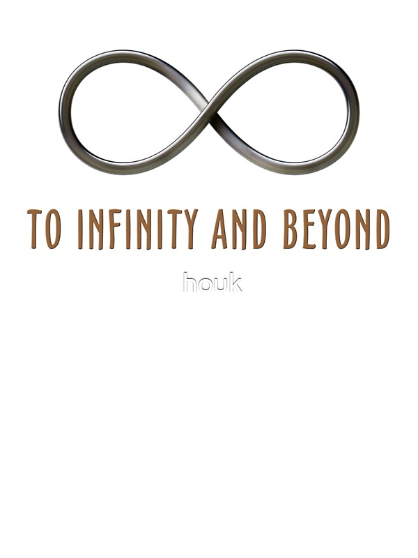 Infinity Beyond Stickers Houk Redbubble