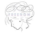I AM FREEDOM  by Roxana Frontini
