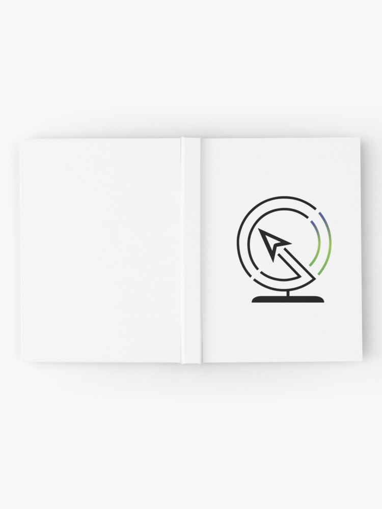 Alternate view of The Lost Geographer Logo Hardcover Journal