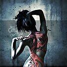 Girl with the dragon tattoo by zairo