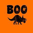 Triceratops Dinosaur Halloween Kids Youth Funny School  von greatshirts