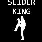 Slider King - Baseball Youth Kids Funny Sports T Shirt Gift  von greatshirts