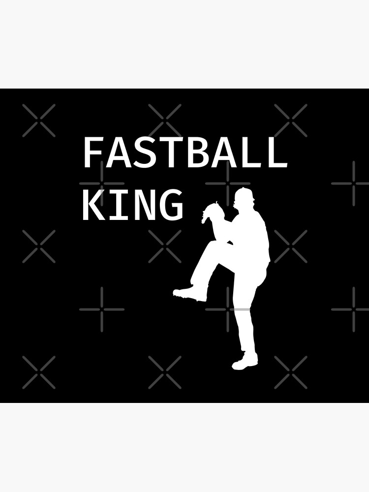 Fastball King - Baseball Youth Kids Funny Sports T Shirt Gift  von greatshirts