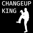 Changeup King - Baseball Youth Kids Funny Sports T Shirt Gift  von greatshirts
