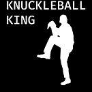 Knuckleball King - Baseball Youth Kids Funny Sports T Shirt Gift  von greatshirts