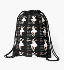 Express yourself Drawstring Bag
