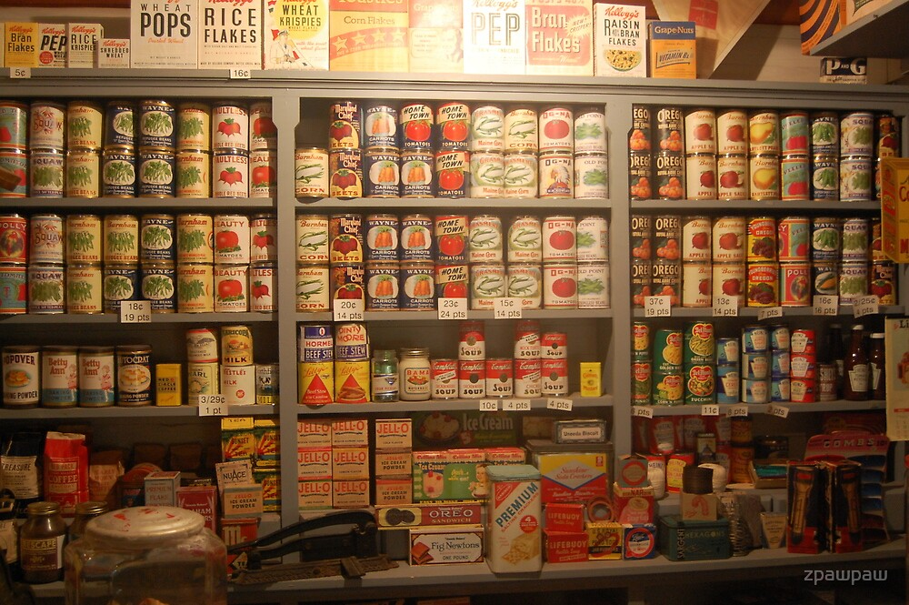 Canned Goods by zpawpaw