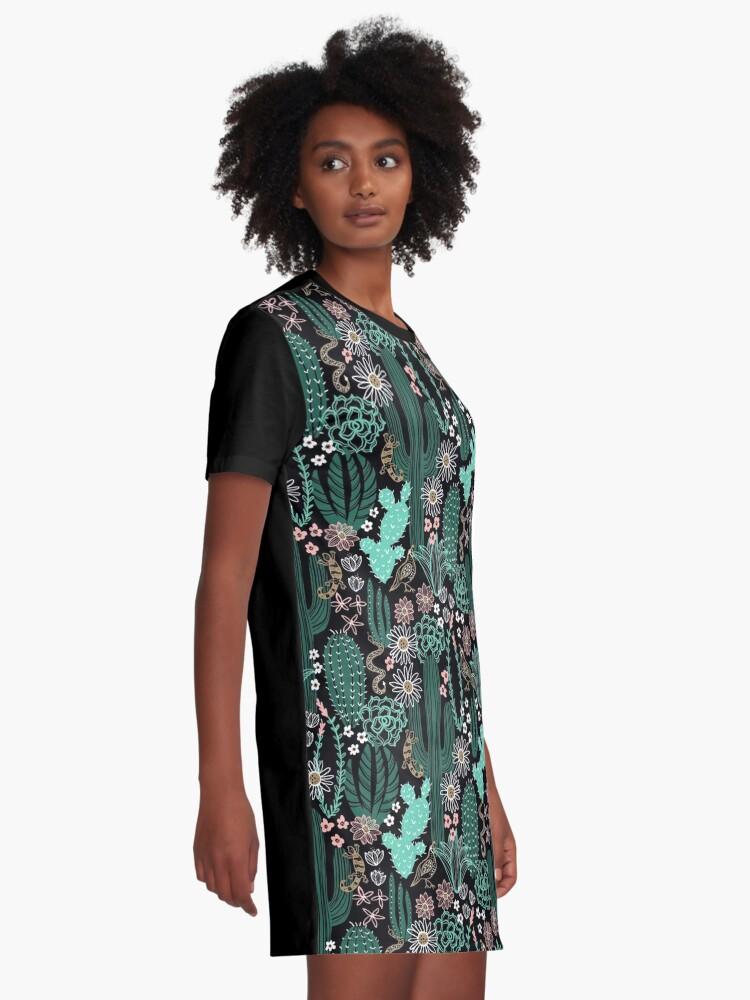 Alternative Ansicht von Sonora-Landschaft T-Shirt Kleid