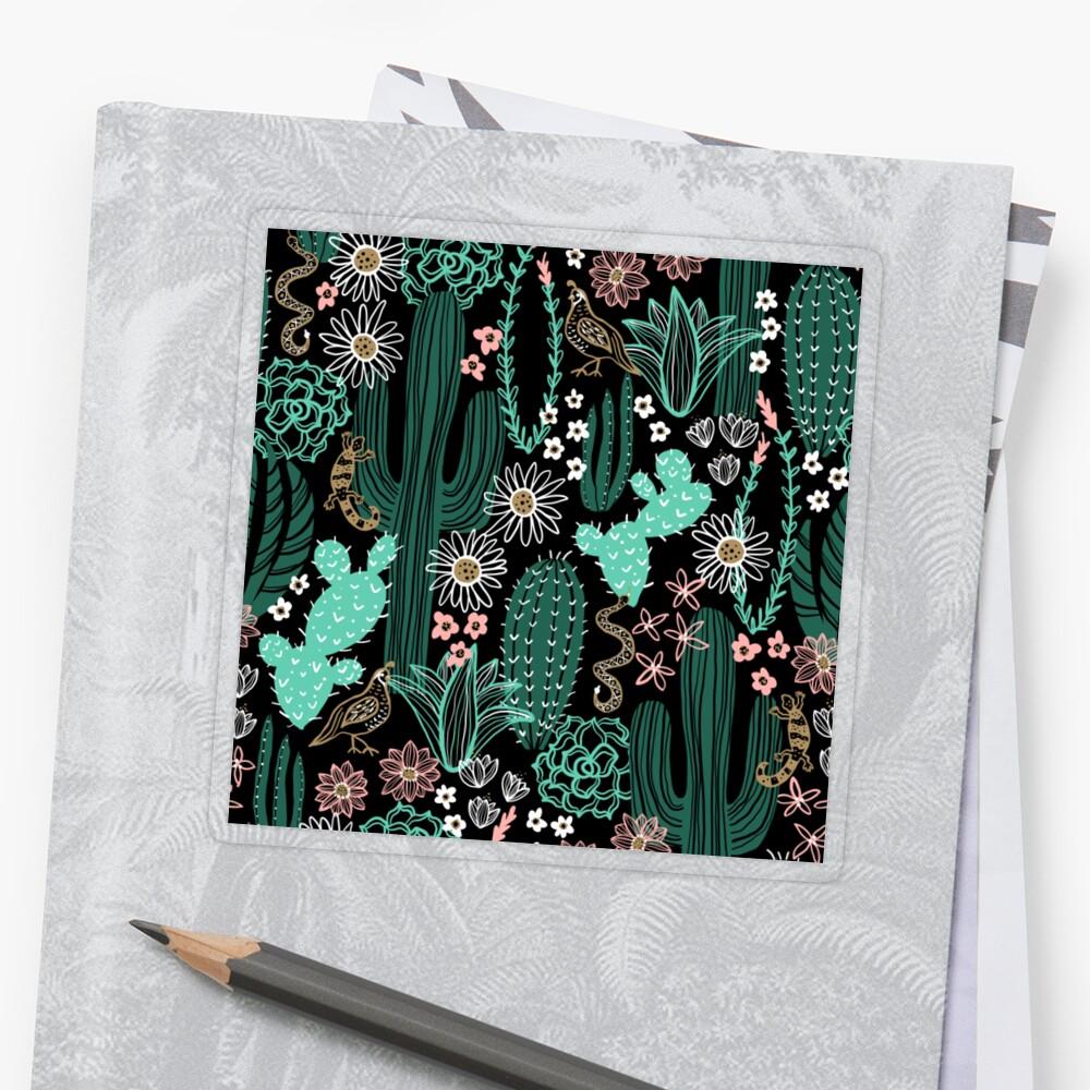 Sonora-Landschaft Sticker