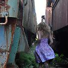 running towards solitude. by Jennifer Rich