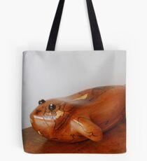Der hölzerne Fisch Tote Bag