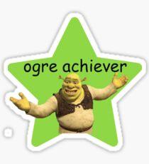 ogre achiever Sticker