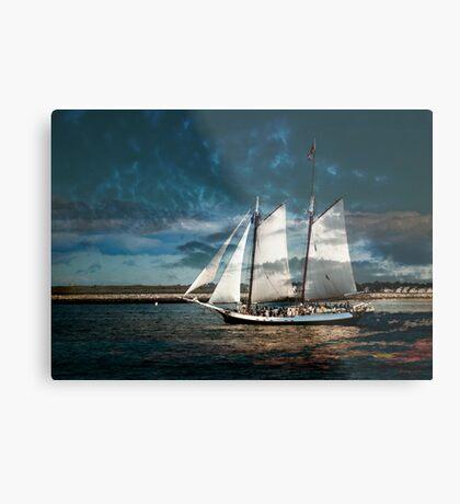 Sail with us Metal Print