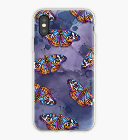 Hand Painted BUTTERFLY PATTERN iPhone Case