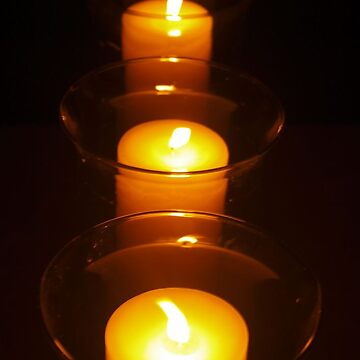 Relay For Life Candles by NatashaHurst