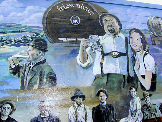 Quot German Settlers In Texas Beer Festivities Quot Posters By