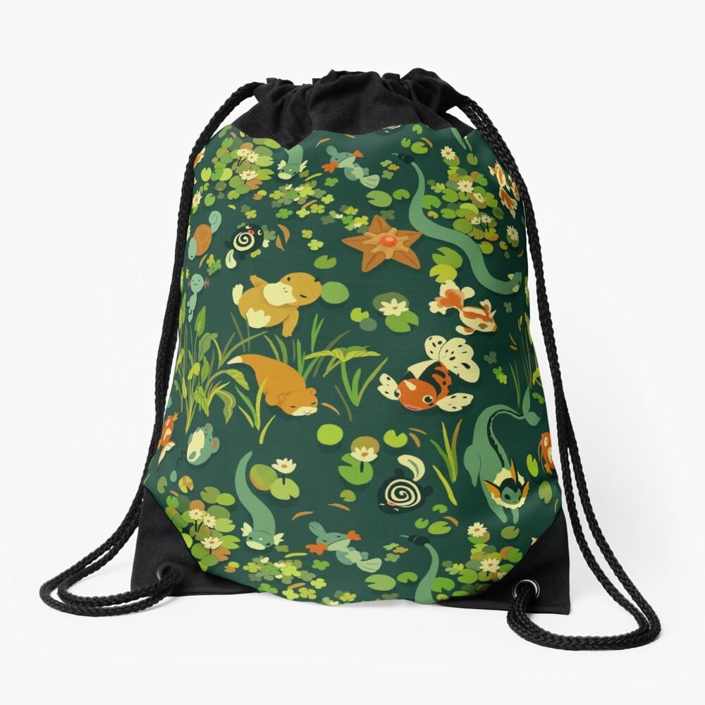 Whirlpool Drawstring Bag