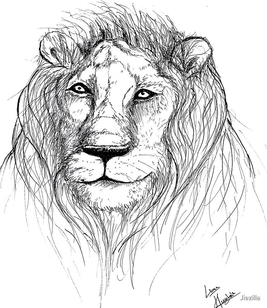 Lion by Jiezilla
