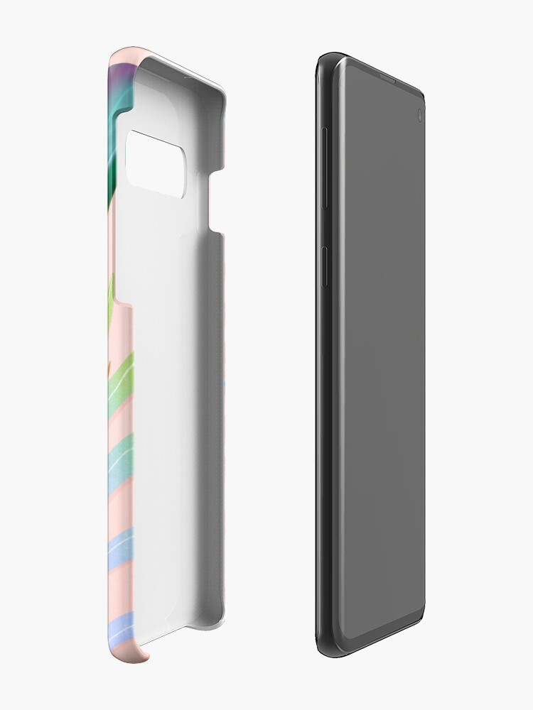 Alternate view of tropical bird of paradise Cases & Skins for Samsung Galaxy