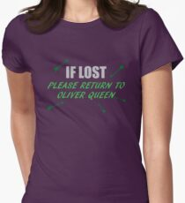 If Lost Womens Fitted T-Shirt