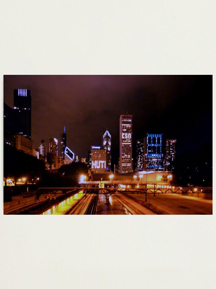 Alternate view of Festa Muti No. 2 -- The City at Night Photographic Print