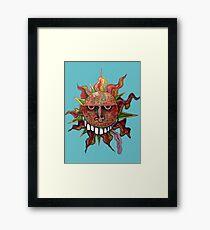 Hot Ball Framed Print