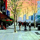 Southbank Promenade by Guntis Jansons