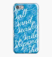 Sun Sand Sea iPhone Case/Skin