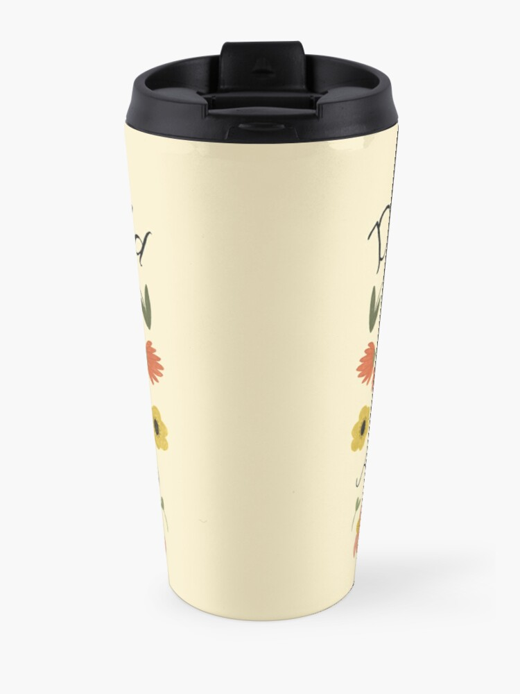 """Alternate view of Anne of Green Gables """"Dear Old World"""" Quote Travel Mug"""