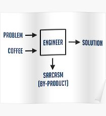 Engineering Sarcasm By-product Poster