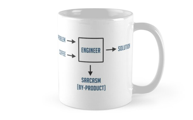 Engineering Sarcasm By-product by TheShirtYurt