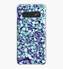Cockle shells in blue Case/Skin for Samsung Galaxy