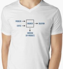 Engineering Sarcasm By-product Men's V-Neck T-Shirt