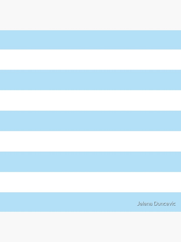 Stripes (Parallel Lines) - Blue White by sitnica