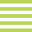 Stripes (Parallel Lines) - Green White by sitnica