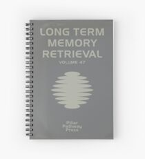 Inside Out - Long Term Memory Manual Spiral Notebook