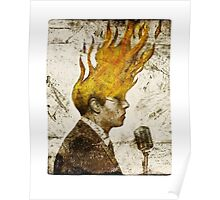 The Flaming Crooner Poster