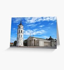 Vilnius Cathedral Greeting Card